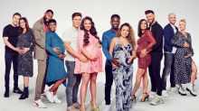 Celebrity Bumps Famous and Pregnant cast date