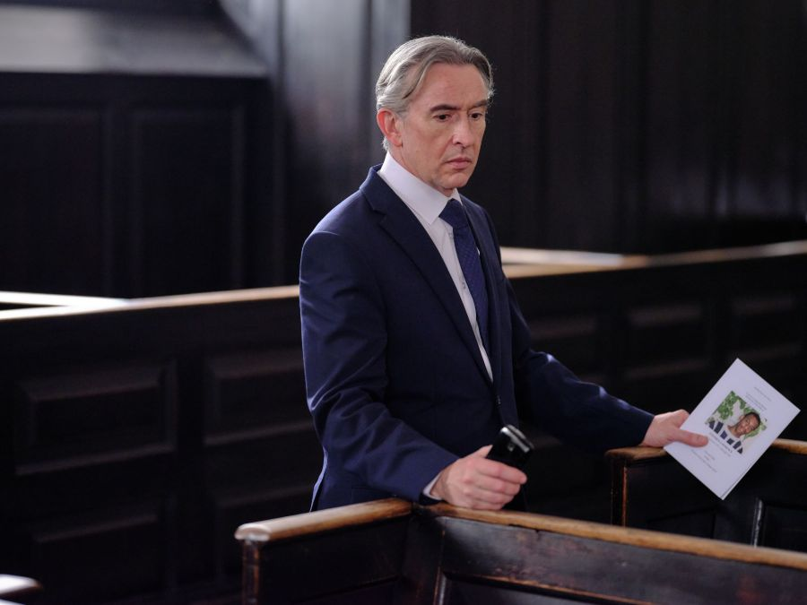 STEVE COOGAN as Clive Driscoll. Picture: ITV
