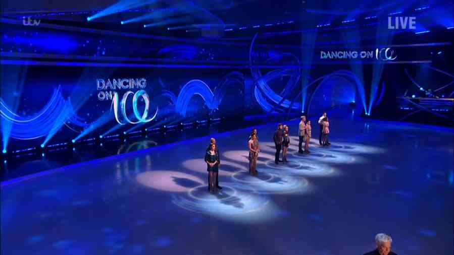 dancing on ice results 2021