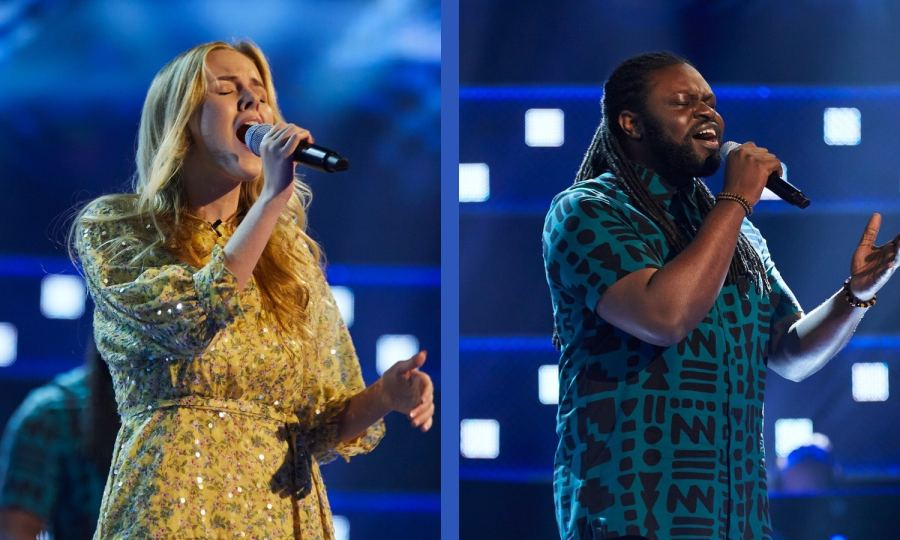 Team Will: Esther Cole and Mide perform.