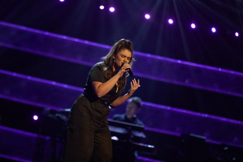 Hannah Hocking - The Voice UK: SR5: Ep7 on ITV