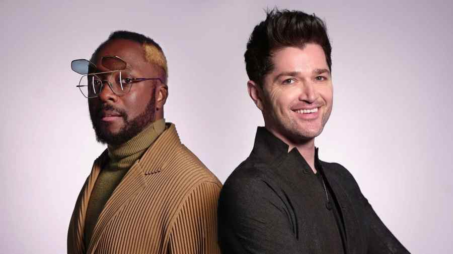 Will.i.am with Danny O'Donoghue