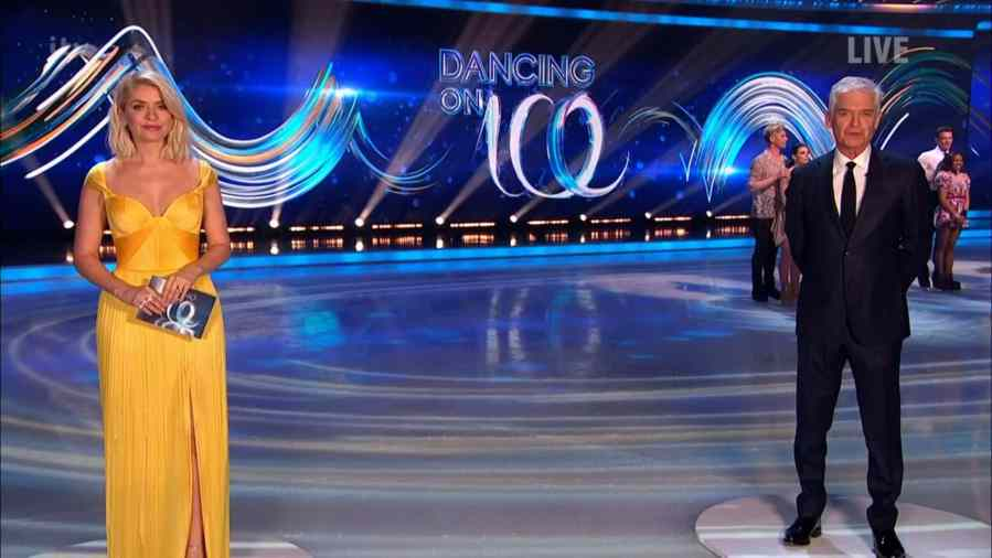 dancing on ice 2021 semi final results b