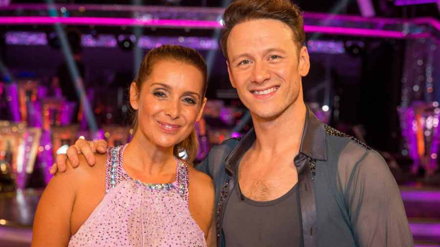 louise redknapp kevin clifton