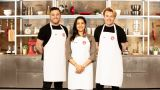 MasterChef finalists Mike T, Alexina, Tom