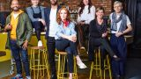 Your Home Made Perfect. Picture Shows: Damion Burrows, Lizzie Fraher, Julian McIntosh, Angela Scanlon, Laura Jane Clark, Lynsey Elliott, Will Foster - (C) Remarkable TV - Photographer: Remarkable TV