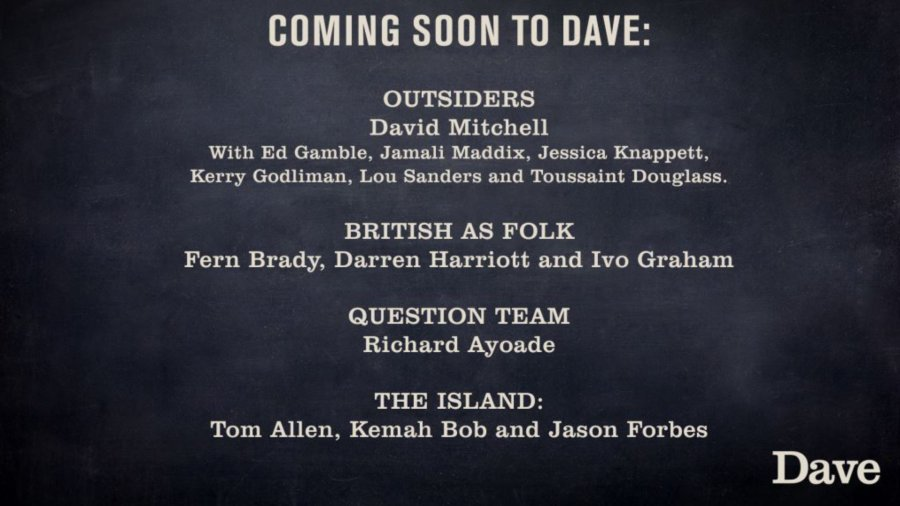 dave new shows