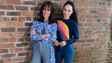 Michelle Ackerley and her mum