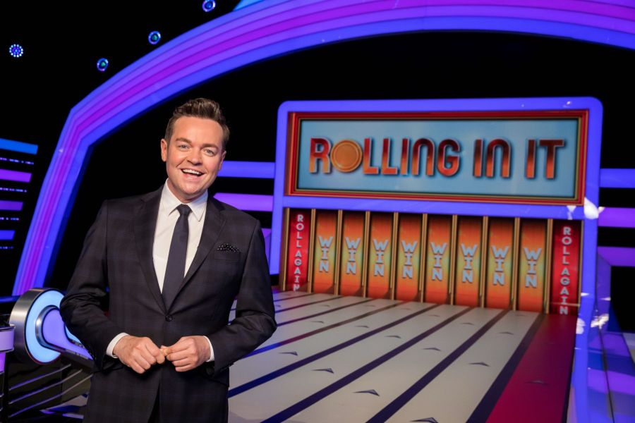 Rolling In It. Picture: ITV/©Over The Top Productions