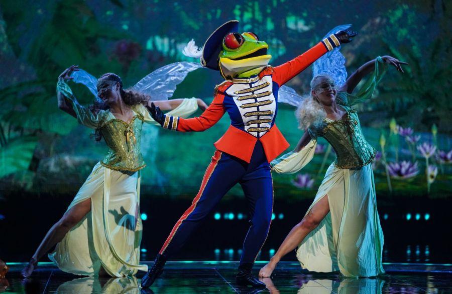 Frog. Picture: ITV/©Bandicoot TV