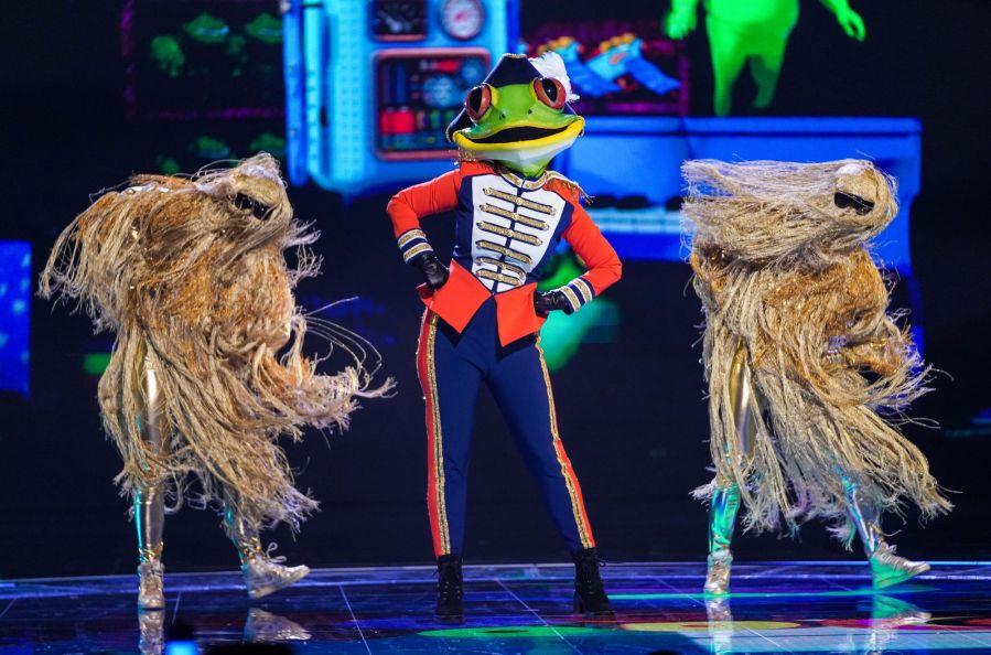 Frog. Picture: ITV/Bandicoot TV