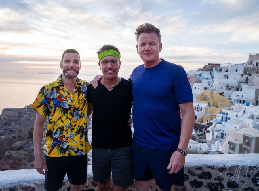 Gordon, Gino & Fred Go Greek