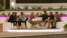 AJ meets the boys, Hugo, Teddy, Aaron, AJ, Liam, Jake and Toby