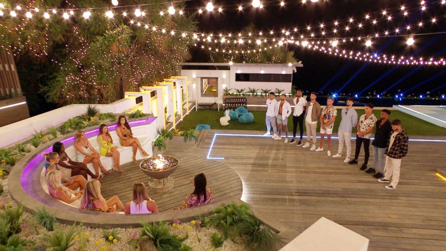 Love Island: The Islanders gather for the recoupling.