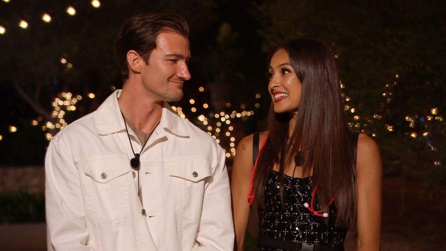 Brett and Priya.