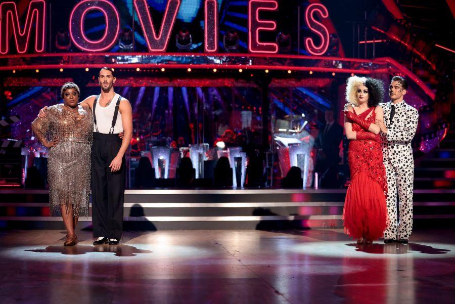 Judi Love, Graziano Di Prima, Katie McGlynn, Gorka Marquez - (C) BBC - Photographer: Guy Levy