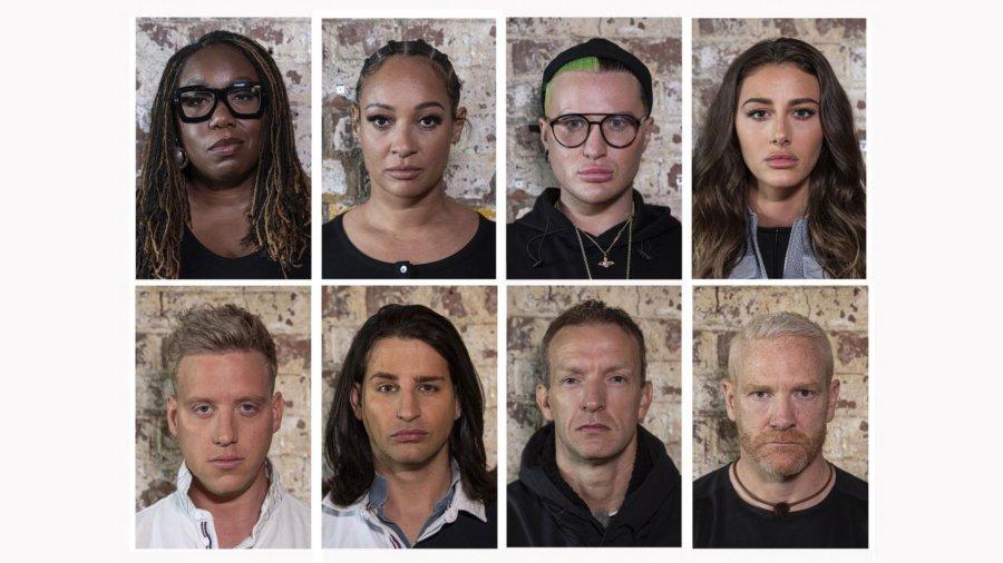celebrity hunted cast