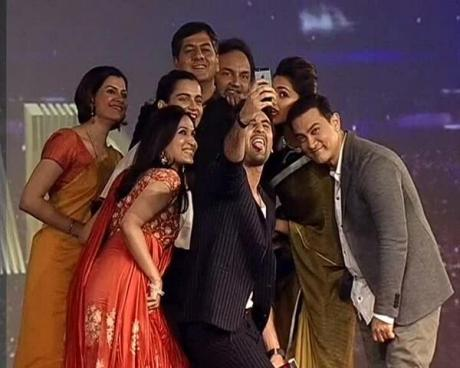 Selfie at the awards
