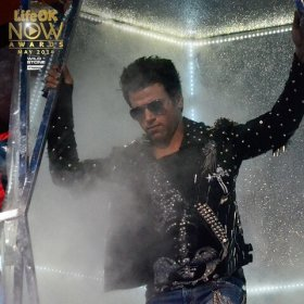 Rithvik performing on the show