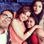 Drashti selfie with Sneha, Ranvir