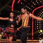 Purab and Mohena during their dance move