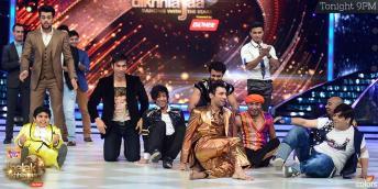 Jhalak boys on dance floor after doing an item number