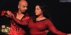 RJ Malishka grooves with her partner with full vibrancy