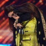 Rani showers a kiss to Akshat