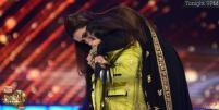 Rani showers a kiss to Akshat