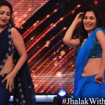 Sophie and Madhuri dance together on sensual song picturized on Sridevi - Rate Nahi Katte