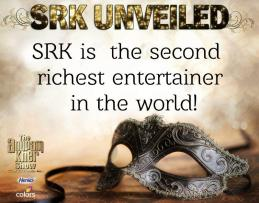 SRK - second richest entertainer in the world