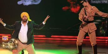Sukhiji dance as tribute to Shaheed Bhagat SIngh