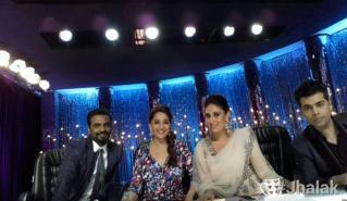 Kareena's selfie with judges