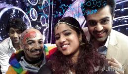 Manish and Malishka selfie
