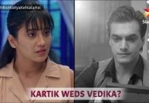 YRKKH Kartik and Naira Close connection twist