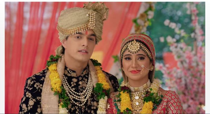 YRKKH Kaira married Lav Kush Love triangle begins