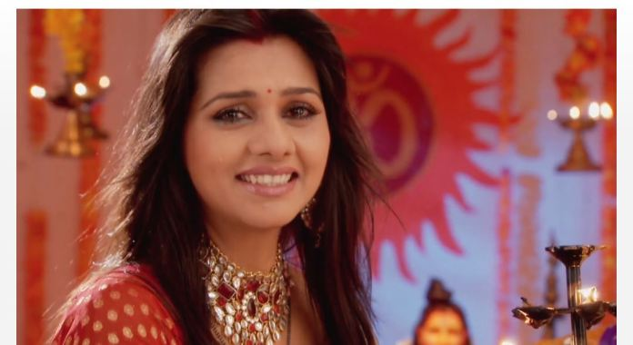 Star Plus IPKKND 1 Khushi Arnav Anjali Shyam meet