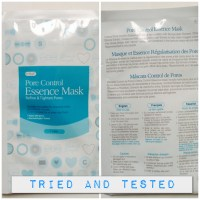 {Review}Cettua Pore Control  Essence Mask