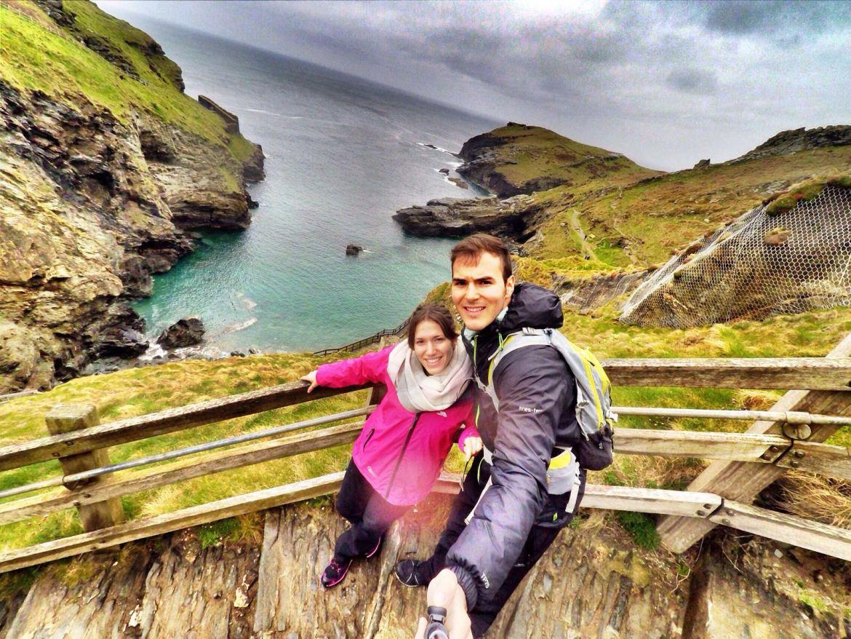 viaje en coche por Cornwall y Devon
