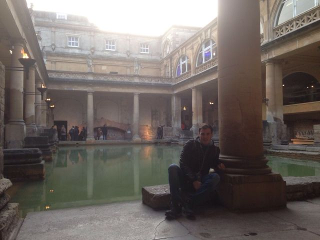 Bath en 2 días: Baños Romanos