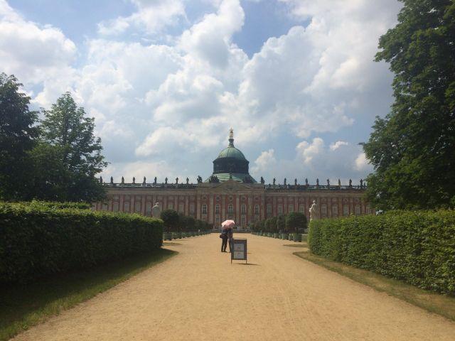 Qué ver y hacer en Berlín en 4 días: Palacio Nuevo en parque Sanssouci.