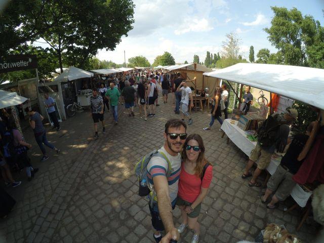 Qué ver y hacer en Berlín en 4 días: Mauerpark, mercado vintage