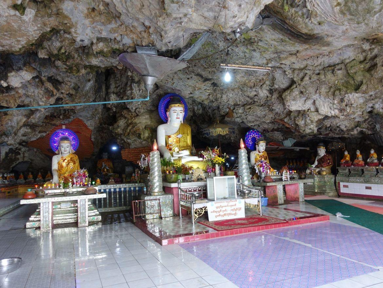 Kaw ka tang cave: qué hacer en Hpa-An