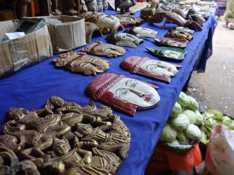Trekking de Kalaw al Lago Inle: Mercado local en Kalaw