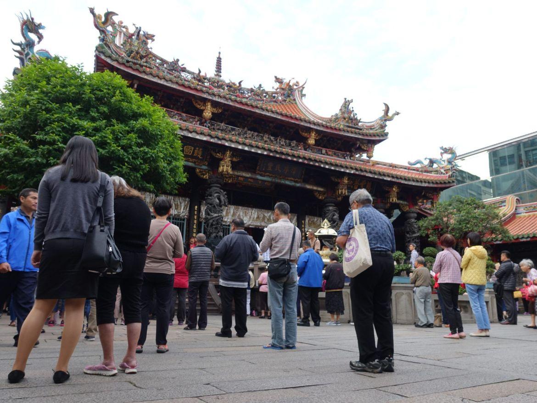 Qué hacer en Taipei: Templo de Lungshan