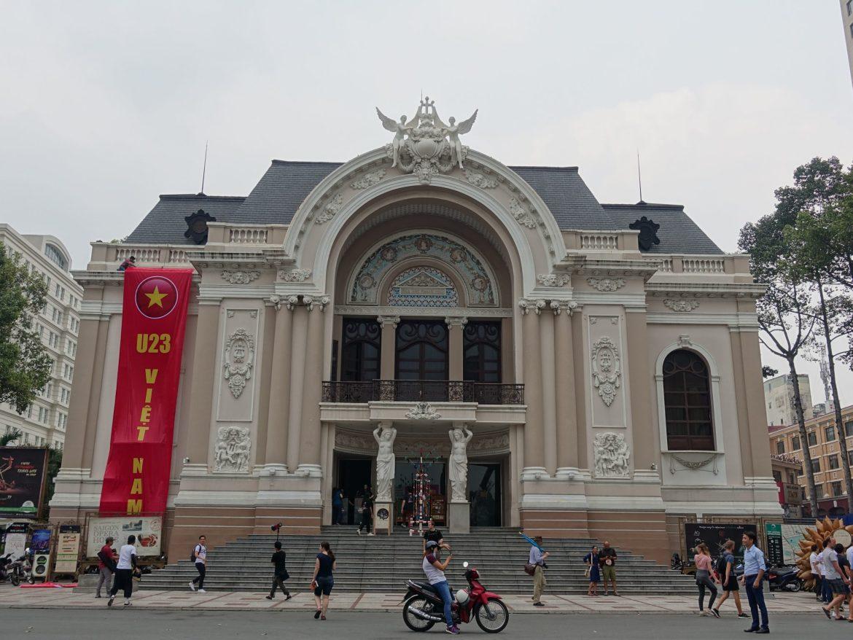 Qué ver y hacer en Ho Chi Minh: Opera.