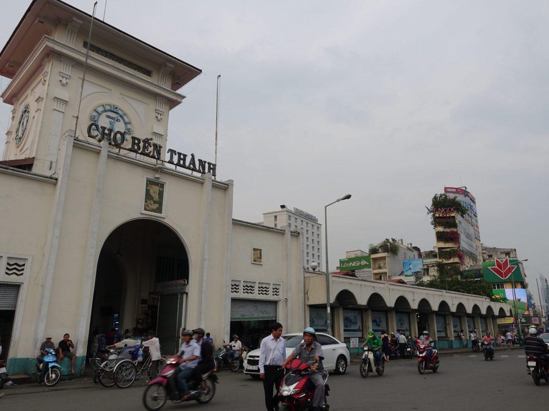 Qué ver y hacer en Ho Chi Minh: Mercado Ben Thanh.