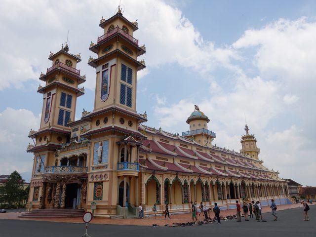 Qué ver y hacer en Ho Chi Minh: Templo Cao Dai.