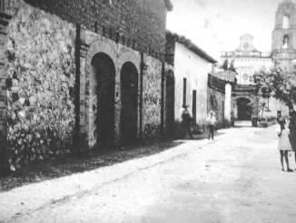 Fachada de lo que fuera el Cine Regis en la década de los años cincuenta., en Teloloapan