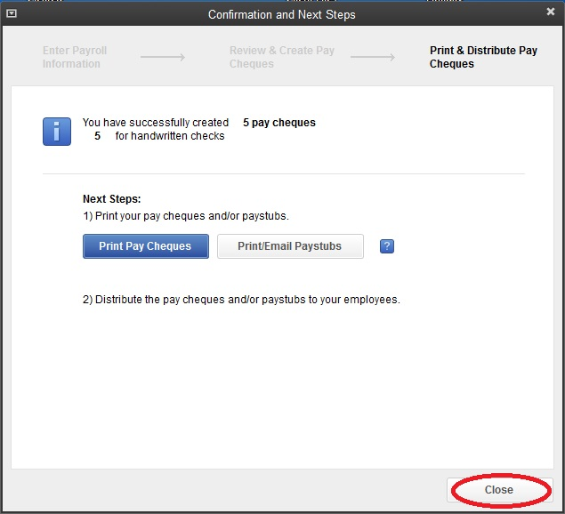 Import QuickBooks Desktop Software Payroll into Telpay